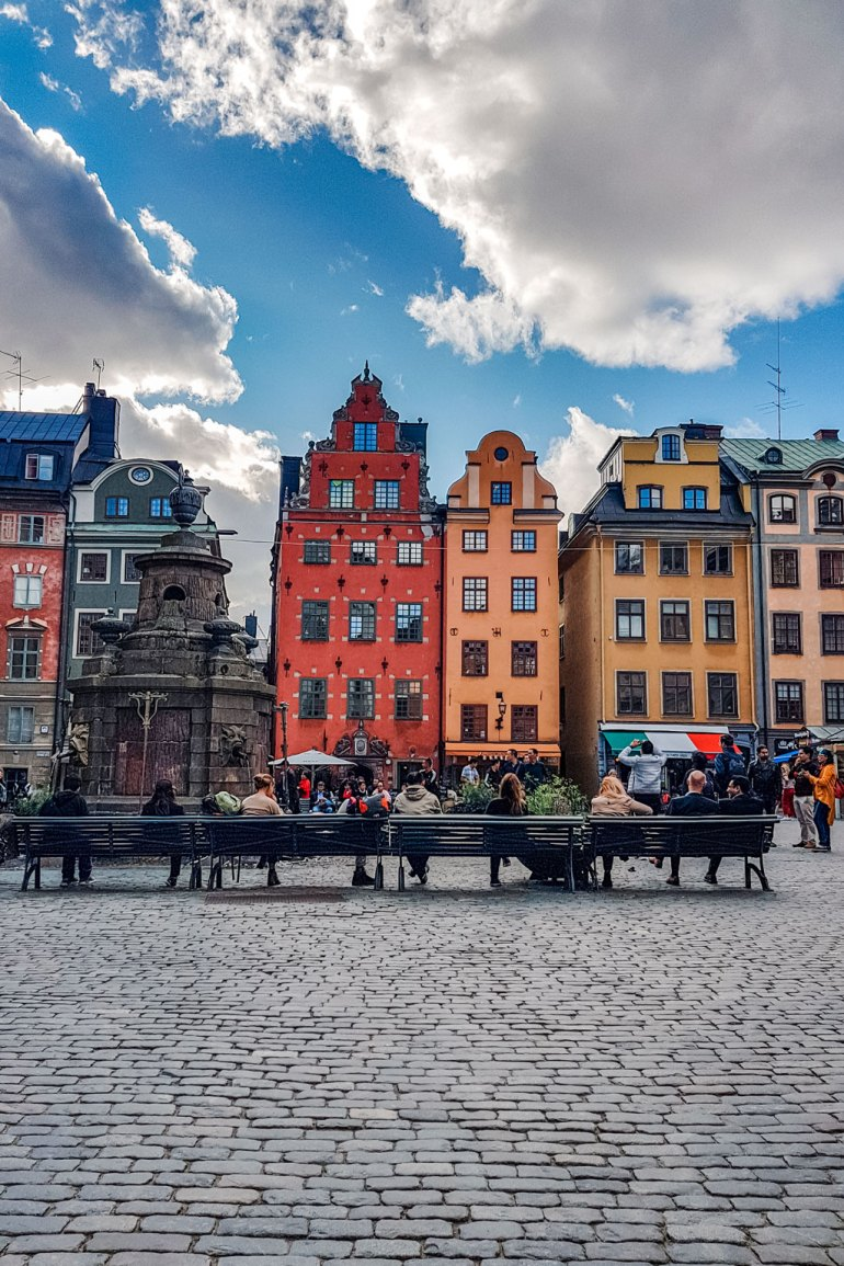 Main Square of the Gamla Stan (Old Town Stockholm)