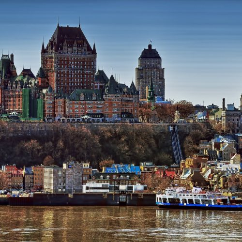 Fairmont Le Chateau Frontenac - This  castle like hotel is the jewel in the crown of Quebec City