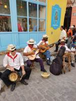 Musicians in Old Havana
