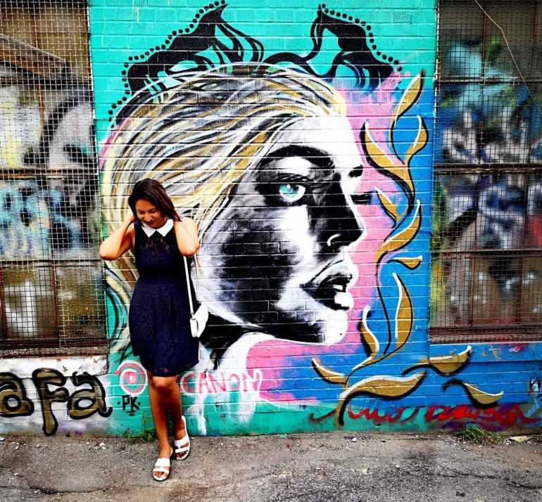 Free things to do in toronto - The murals in Graffiti Alley Toronto are truly instaworthy.