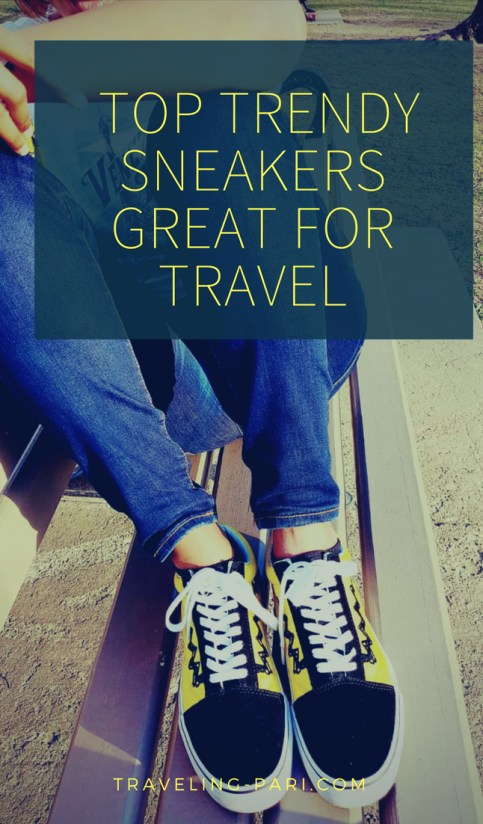 Sneakers are my first choice when it comes to footwear for travel. Check out my list of best trendy sneakers that are great for travel.