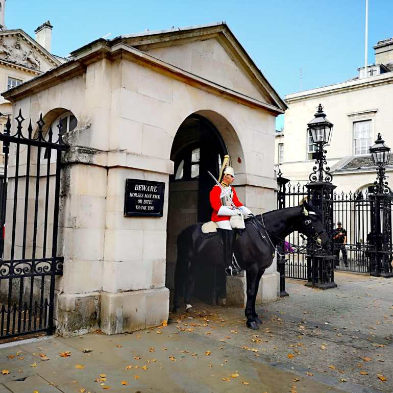 Day 1 of London Itinerary - Horse Guards