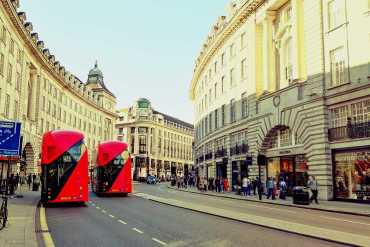10 Best shopping areas in London: Regent Street