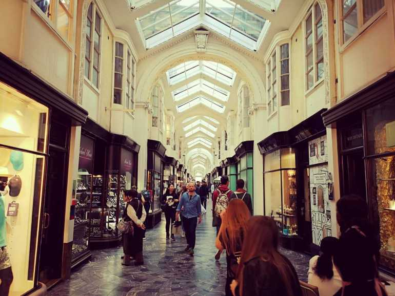 10 best shopping areas in London: Burlington Arcade