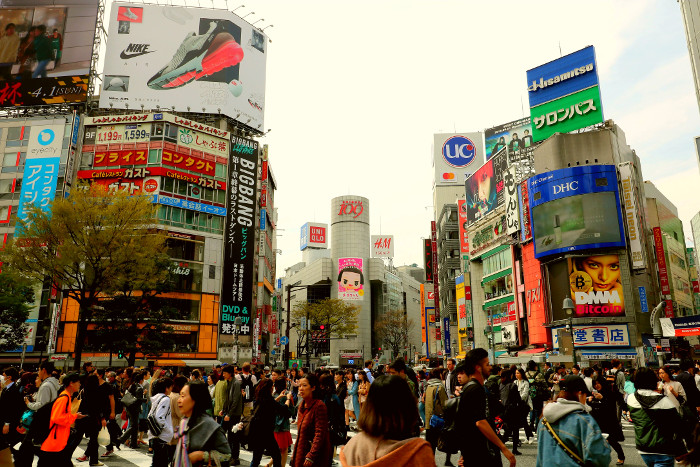Things to do in Tokyo: Shibuya Crossing