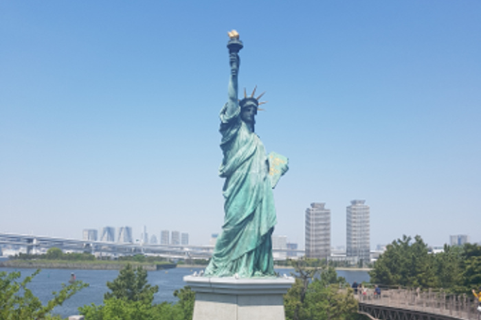 Things to do in Tokyo: See the replica of Statue of Liberty