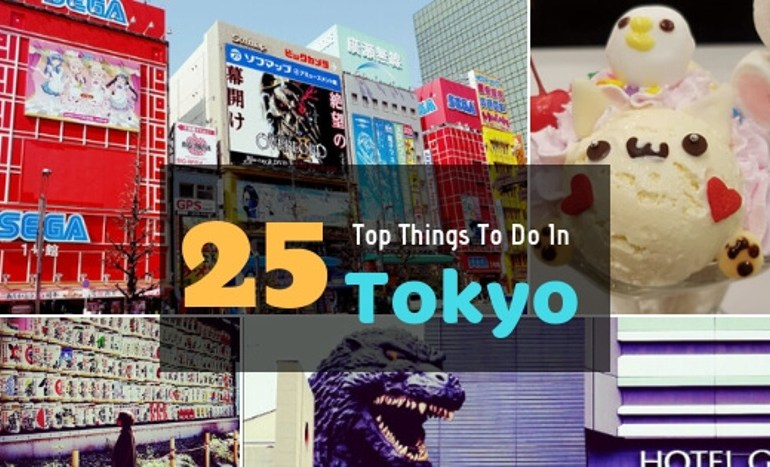 25 Top things to do in Tokyo