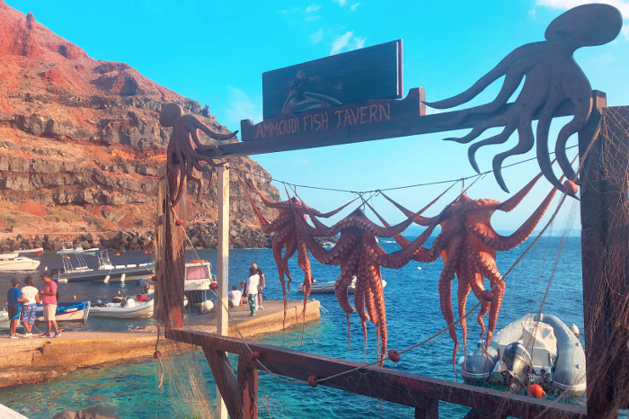 Best  seafood dishes in the world - Grilled Octopus, Greece