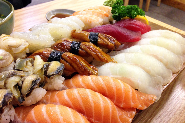 Best seafood dishes in the world - Sushi, Japan