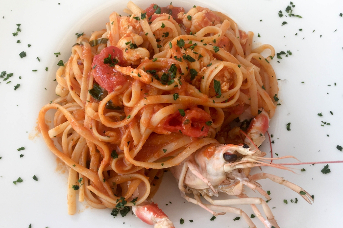 Best seafood dishes around the world - Taglioni with lobster, Venice, Italy