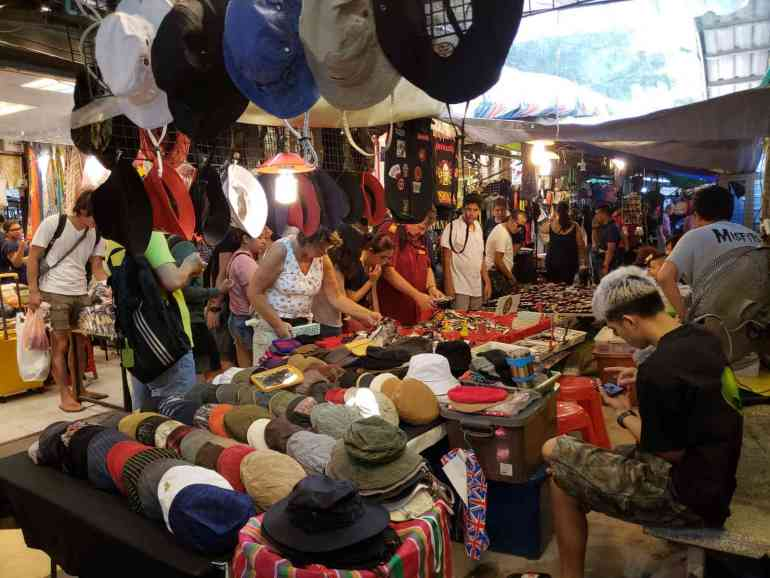 Buy inexpensive clothes, jewellery, shoes, bath products and other knick knacks at the Chatuchak weekend market