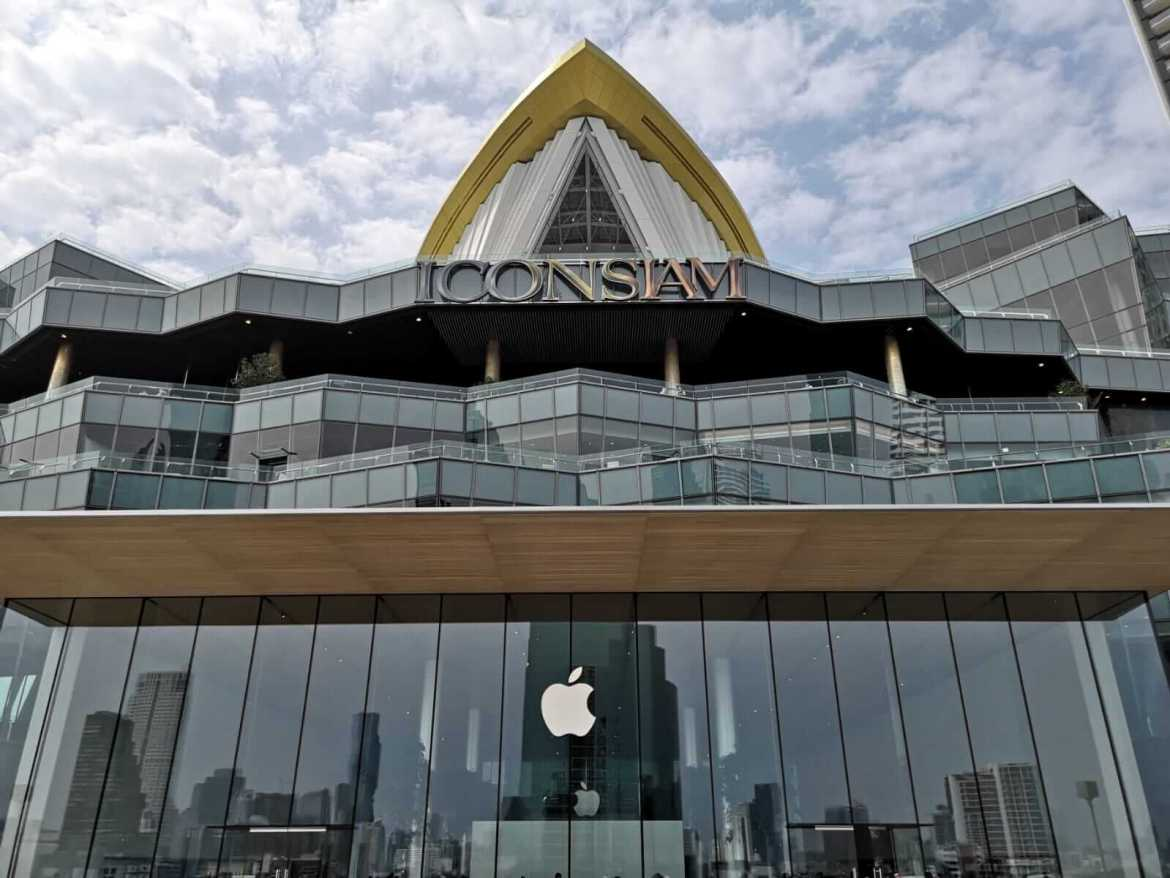 Thailand's first Apple store at Icon Siam