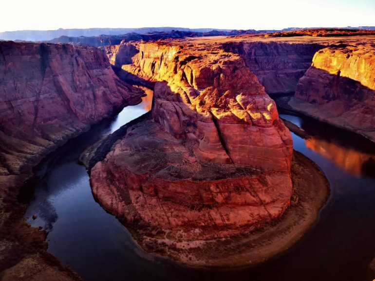 Horshoe Bend is the last stop on the Antelope Canyon tour