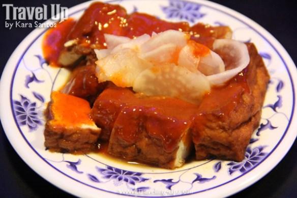 06. cafe mezannine - tofu dish