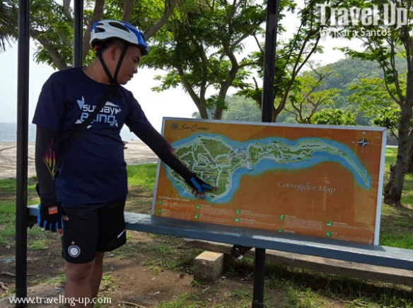corregidor island philippines biking map