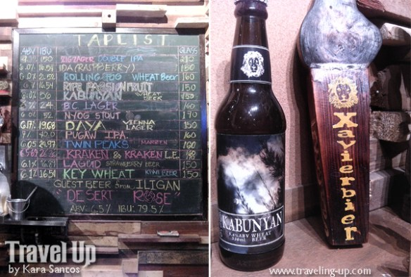 xavierbier kabunyan wheat beer taplist baguio craft brewery
