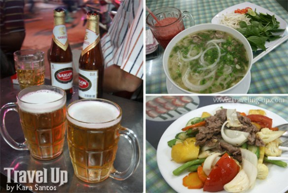 saigon backpacker's district pho beer