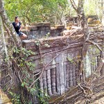 Tomb Raiding a Jungle Temple