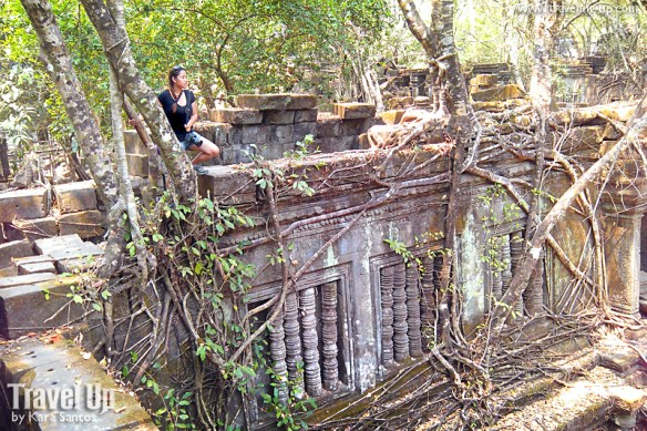 beng melea temple cambodia tomb raiding