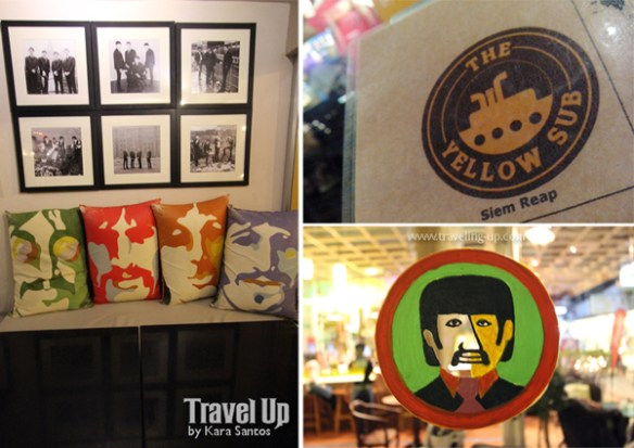 the yellow sub beatles bar cambodia details