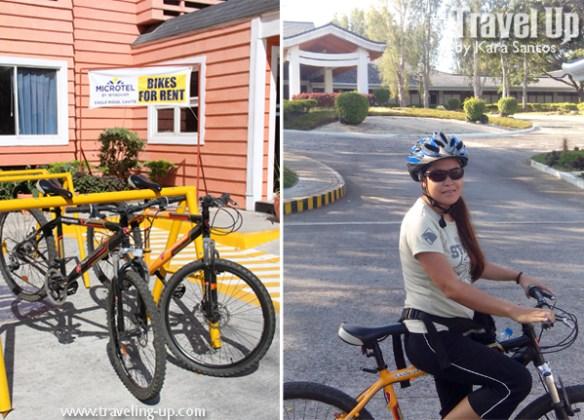 microtel cavite eagle ridge bikes for rent