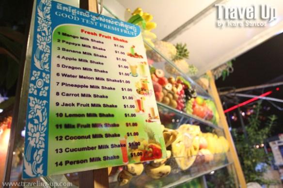 fruit shakes siem reap cambodia