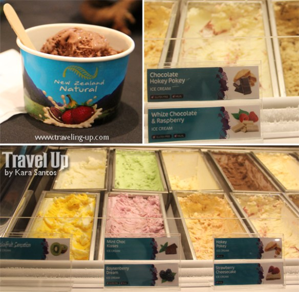 new zealand natural ice cream hoeky pokey