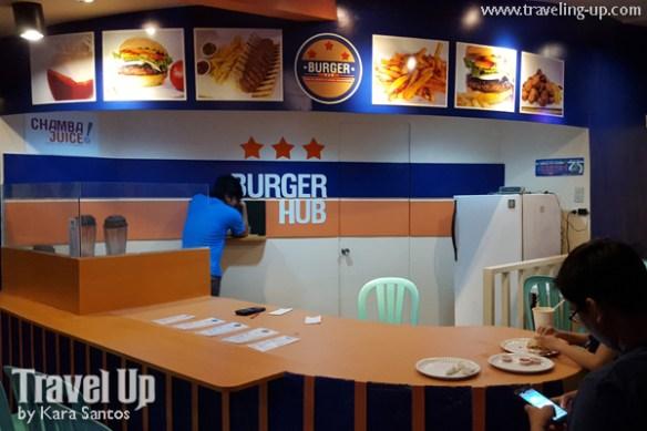 the zone z compound malingap burger hub chamba juice