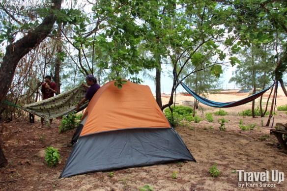 jomalig quezon camping tent hammock