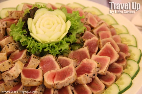 13. seared tuna at enderun college