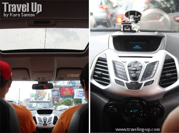 ford ecosport mystery case sunroof features