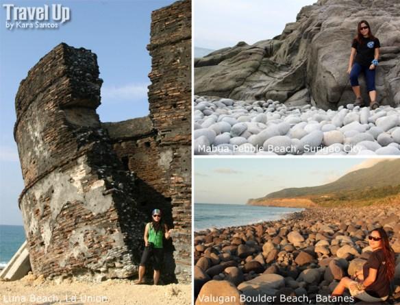 stone beaches philippines la union surigao batanes