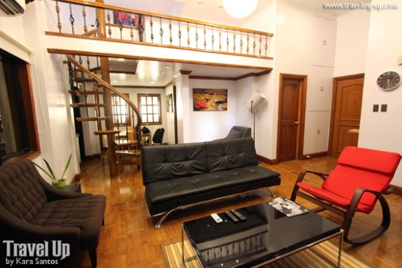 03. alcoves hotel makati 4BR penthouse sala