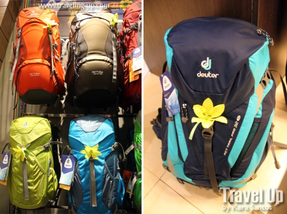 04. deuter backpacks concept store MOA SL line