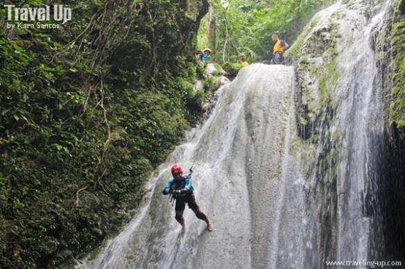 nalalata waterfalls rappelling camarines sur 22