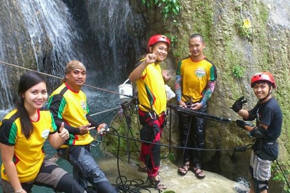 nalalata waterfalls rappelling camarines sur 23