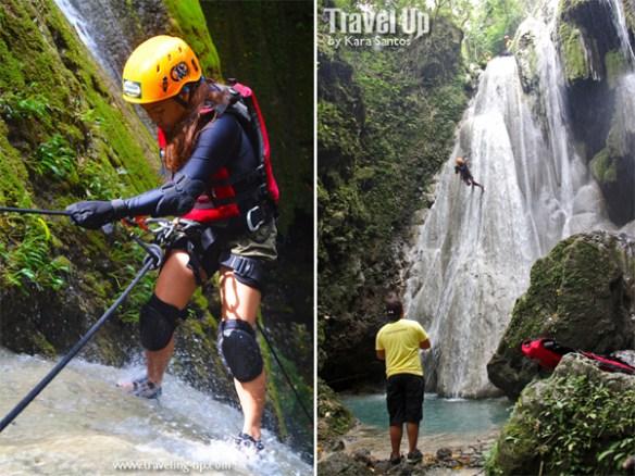 nalalata waterfalls rappelling camarines sur 25