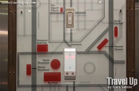 amelie hotel manila elevator map