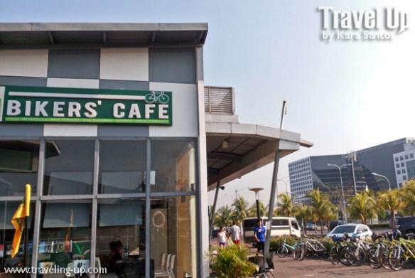 bikers cafe MOA manila facade