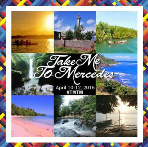 #TakeMetoMercedes #TMTM logo Mercedes Camarines Norte Bicol