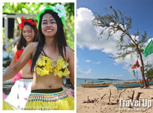 caringo island mercedes camarines norte bicol dancers beach