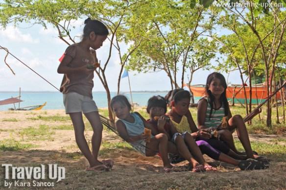 caringo island mercedes camarines norte bicol kids hammock