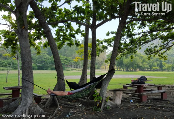 corregidor island philippines camping hammock beach