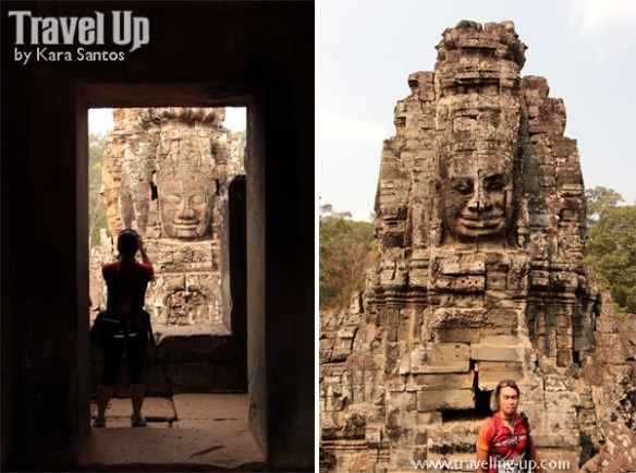 biking cambodia angkor archaeological park bayon temple