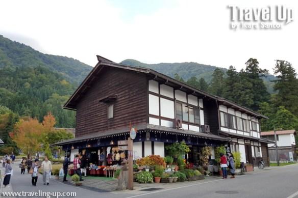 07. shirakawago village japan souvenir shop wide