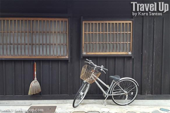 09. shirakawago village japan bicycle broom
