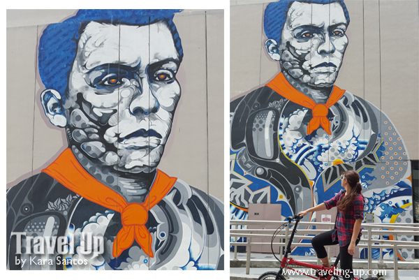 Art in the city murals in bgc travel up for Bonifacio mural painting