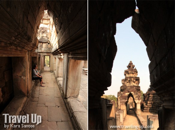 biking day 2 cambodia angkor archaeological park baphuon corridors