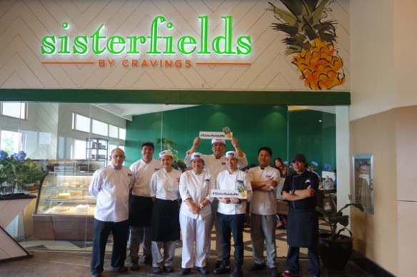 chef dino and students group photo