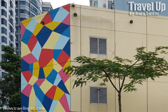 magic diamond pattern by kristin farr BGC mural